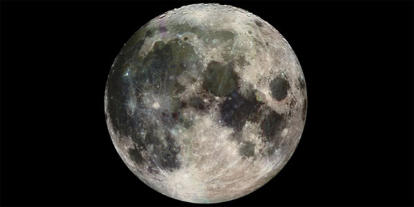 Scientists studying moon reflected light have discovered life on Earth