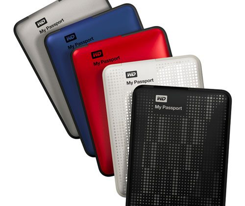 Western Digital My Passport line updated: 2TB now available