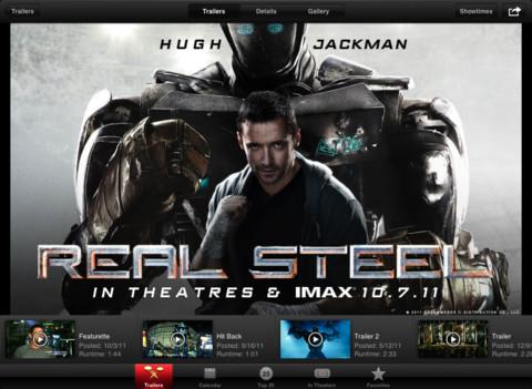 iTunes Movie Trailers app updated for iPad's Retina Display
