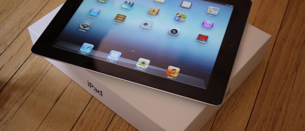 New iPad online availability improves