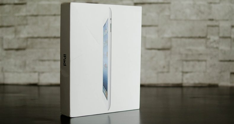 New iPad gets early unboxing