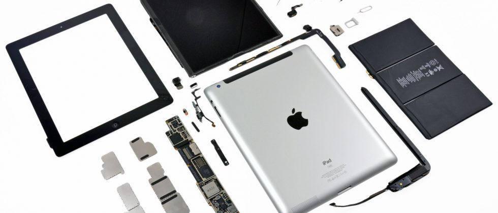 New iPad parts most expensive yet