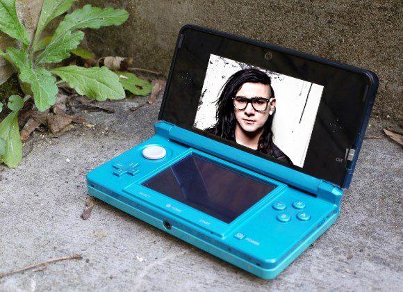 3D Skrillex will creep into your Nintendo 3DS