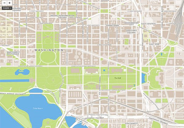 Foursquare moves to MapBox Streets from Google Maps