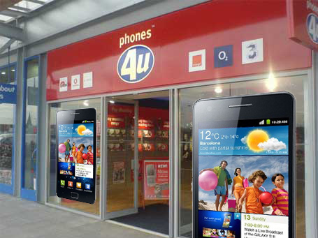 Samsung apes Apple with store-in-a-store