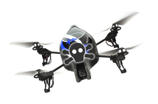 Pirate Bay Torrent drones could soar over piracy rules