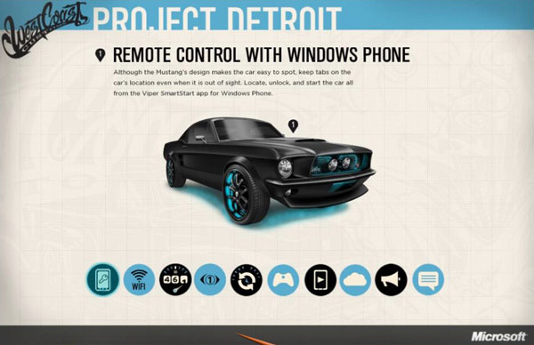 Microsoft teams with customizers on Project Detroit Mustang