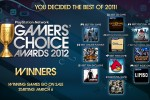 Sony PSN Gamers' Choice Awards winners announced