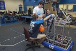 Ohio high schools pit robots in basketball competition