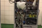 Navy humanoid robot can put out fires