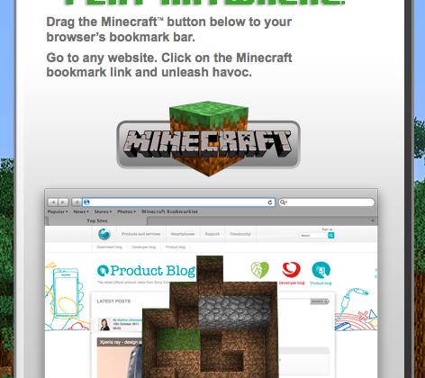 Sony lets you unleash Minecraft anywhere