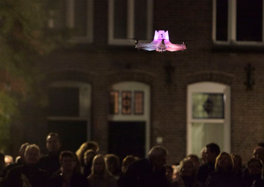 File sharing drones are already a reality