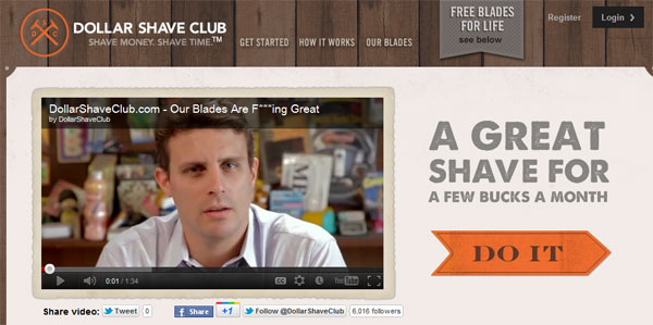 Dollar Shave Club almost makes me want to shave