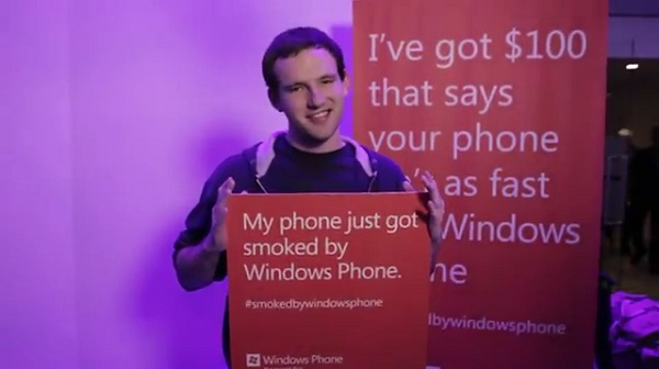 """Smoked by Windows Phone"" winner to auction prizes for charity"