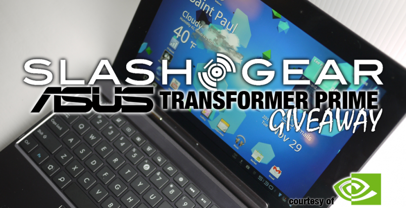 SlashGear's Transformer Prime Quad-Core Pack Giveaway!
