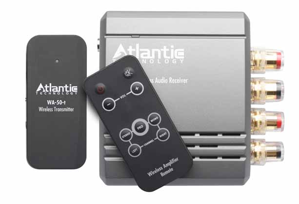 Atlantic Technology WA-5030 pumps your sound wirelessly