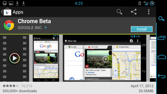"""Chrome for Android leaving beta """"in a matter of weeks"""""""