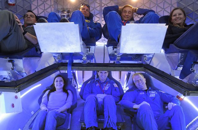Space X completes first Dragon capsule crew cabin demonstration