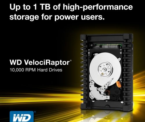 Western Digital VelociRaptor sees bump to 1TB