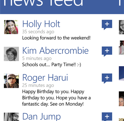Facebook for Windows Phone to see major update