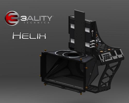 3ality Technica Helix 3D rig delivers next-gen camera control