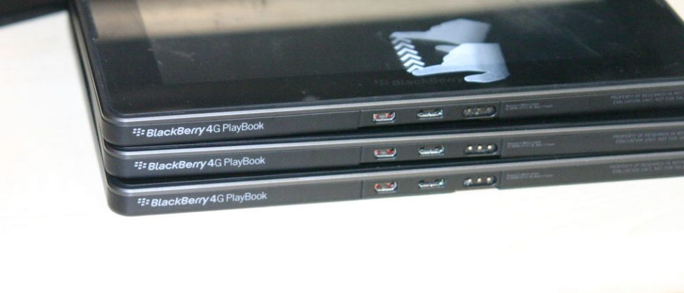 RIM 4G Playbook photos spotted in the wild