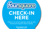 Blackberry Foursquare app gets NFC support