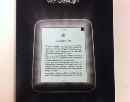 NOOK Simple Touch with GlowLight leaked