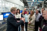 Apple Ireland political visit applauds Euro expansion