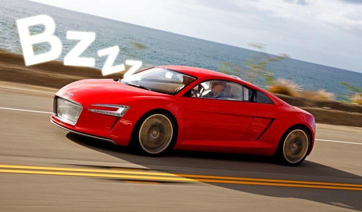 Audi e-sound makes EVs sing