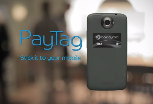 Barclays PayTag slaps an NFC sticker on your cellphone