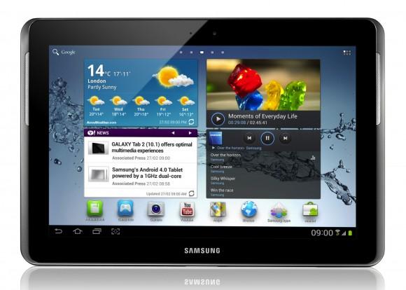 Samsung delays Galaxy Tab 2 tablets to end of April