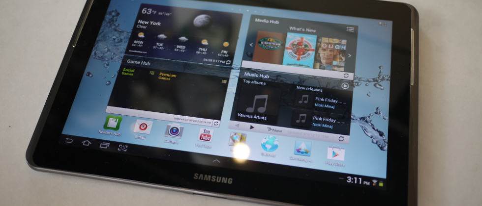 Galaxy Tab 2 10.1 for the USA brings the $400 tablet to Samsung