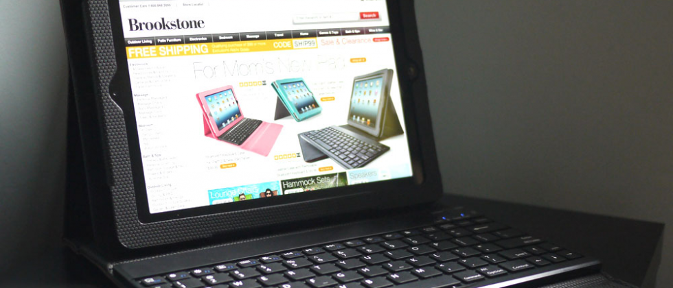 Brookstone Bluetooth Keyboard Pro for iPad Review
