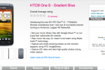 HTC One S goes on sale for T-Mobile