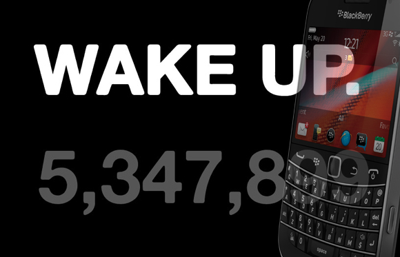 "RIM reportedly involved in anti-Apple ""Wake Up"" campaign"