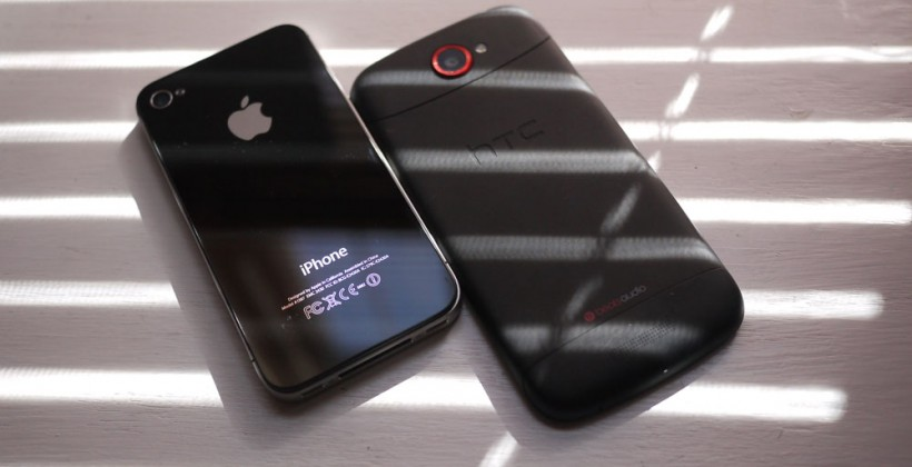 HTC One S vs iPhone 4S Hands-on Part 1