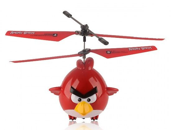 Angry Birds remote control helicopter hates pigs