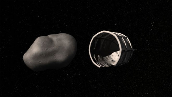 Asteroid mining operation aims for gold and platinum