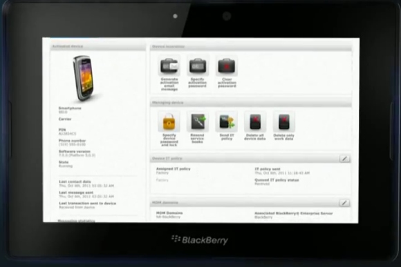 RIM launches BlackBerry Mobile Fusion for businesses