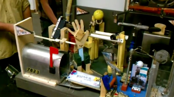 World's largest Rube Goldberg machine created at Purdue