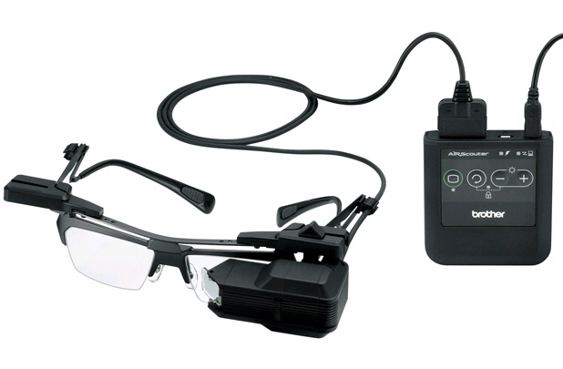 Brother AiRScouter wearable displays launching June 15