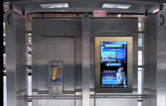 NYC phone booths to be replaced by smart screens