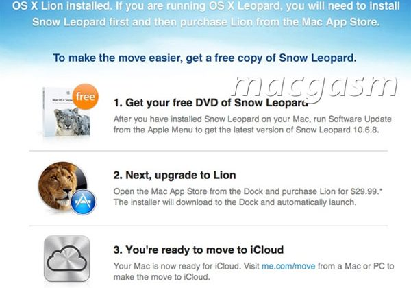 Apple gives away free Snow Leopard update for iCloud preparation