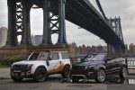 Land Rover shows off convertible concept Evoque and DC100