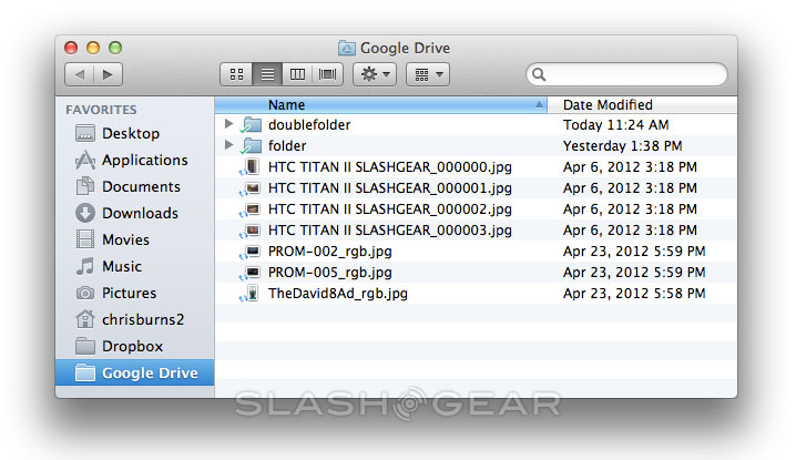 Google Drive mini Review for Desktop