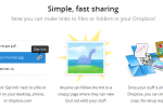 Dropbox adds public link function