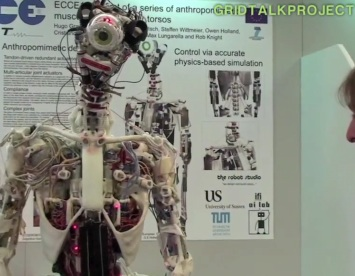 Scientists build robot with muscles and joints
