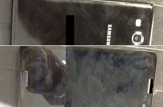 Samsung Galaxy S III caught in the wild