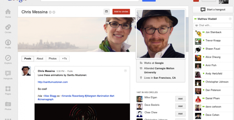 Google+ major refresh revealed